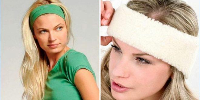 Имеется различные методы как носить повязку для волос
