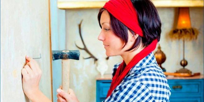 Как забить гвоздь: забавное управление для домохозяек