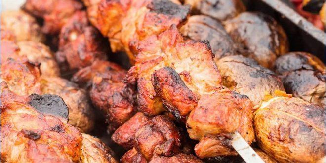Быстрый шашлык из свинины