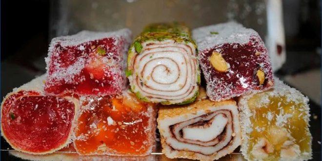 Рахат лукум — рецепт восточной сладости
