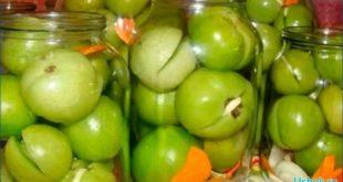 Вкусные зеленые помидоры на зиму