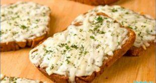 Бутерброды с разнообразной творожной массой