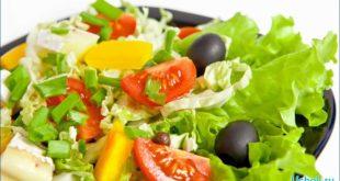 Рецепты салатов из овощей для похудения