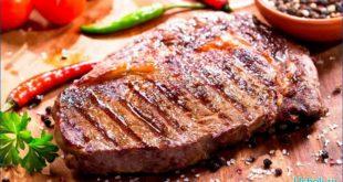 Как приготовить стейк на гриле либо сковороде