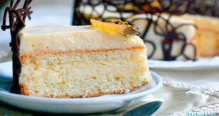 Лимонный торт — рецепт на десерт
