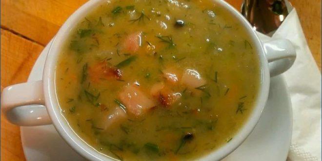 гороховый суп для выходного дня