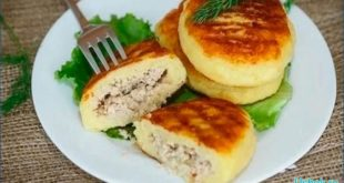 сытные зразы картофельные с мясом