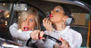 Блондинка за рулем: анекдот для настроения