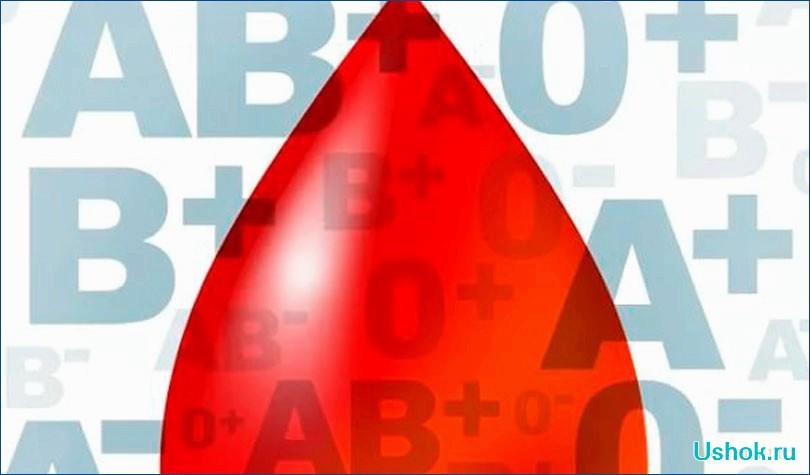 Диета по группам крови: правильный подход