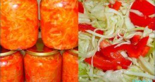 Заготовьте салат из капусты на зиму
