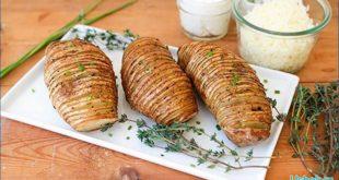 Печеный картофель в духовке — Аккордеон