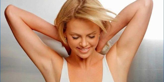 определи как избавиться от пота