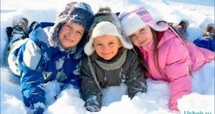 Как одевать ребенка зимний период