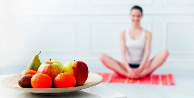 Правильное питание для йога